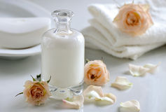 Body or face lotion Stock Photo