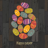 Easter eggs. Royalty Free Stock Photos