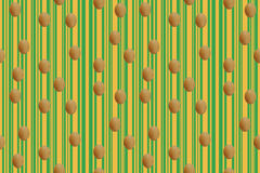 Easter Eggs Continuous Seamless Pattern vector illustration