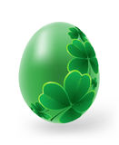 Easter eggs with decor elements Stock Photography