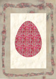 Easter eggs decorated Hand drawn watercolor painting decorative Stock Photography