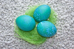 Easter eggs decorated Royalty Free Stock Images