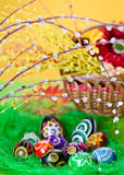 Easter eggs decoration Stock Images