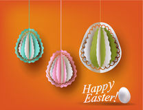 Easter eggs decoration Stock Image