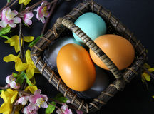 Easter Eggs Decoration Stock Photography