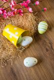 Easter vintage decoration Royalty Free Stock Photography