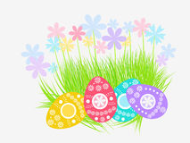 Easter eggs decoration Royalty Free Stock Image