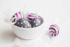 Easter eggs decorations Stock Images