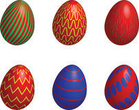 Easter eggs decorative Royalty Free Stock Photos