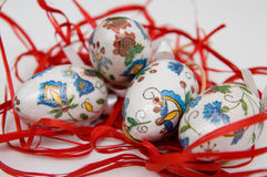Easter eggs. Decorative Easter eggs from Poland Royalty Free Stock Photos