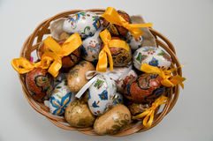 Easter eggs. Decorative Easter eggs from Poland Stock Photography