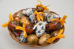 Easter eggs. Decorative Easter eggs from Poland Royalty Free Stock Photo