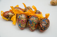 Easter eggs. Decorative Easter eggs from Poland Stock Images