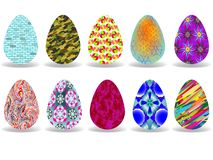 Easter eggs design Royalty Free Stock Photo