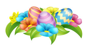 Easter Eggs Design Element Stock Photo