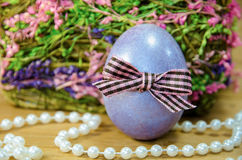 Easter 15. Easter eggs of different colors stock photos