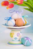 Easter Eggs Display Stock Photography