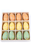 Easter Eggs, Easter background Royalty Free Stock Image