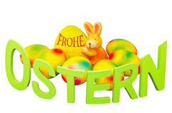 Easter eggs, Easter Bunny Royalty Free Stock Photos