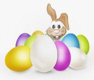 Easter eggs easter bunny Royalty Free Stock Photography