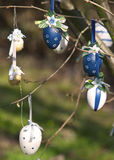 Easter eggs easter tree Royalty Free Stock Image