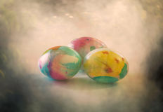 Easter eggs 2. The egg, an ancient symbol of new life, has been associated with pagan festivals celebrating spring Royalty Free Stock Photography