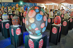 Easter eggs at the festival in Lvov Royalty Free Stock Photography