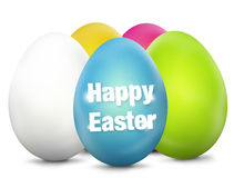 Easter Eggs Festive Elements Stock Photos