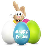 Easter Eggs Festive Elements Royalty Free Stock Photography