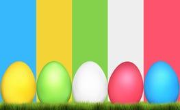 Easter Eggs Festive Elements Stock Photos