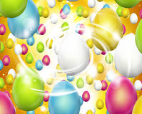 Easter Eggs Festive Royalty Free Stock Photos