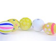 Easter eggs flower Stock Photo