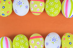 Easter eggs flower Royalty Free Stock Photography