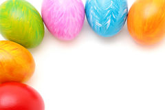 Easter Eggs frame Royalty Free Stock Photos