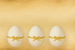 The easter eggs. Royalty Free Stock Photos