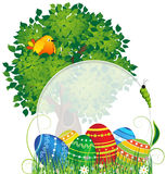 Easter natural background Stock Photography