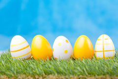 Easter eggs Stock Photo