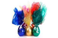 Easter eggs group Stock Image