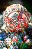 Easter eggs. Hand painted Easter eggs from Romania Royalty Free Stock Image