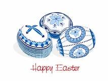 Easter eggs Romanian traditionally - vector Stock Photo