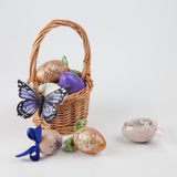 Easter eggs handmade Royalty Free Stock Image