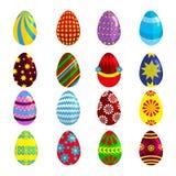 Easter eggs for Easter holidays design on white background. Stock Photo
