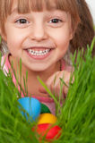 Easter eggs hunt Royalty Free Stock Photos
