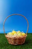Easter eggs hunt Stock Photos