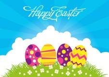 Easter Eggs. An Illustration of Easter Eggs Stock Image