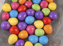 Easter eggs illustration royalty free stock image