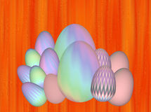 Easter eggs illustration Stock Photo