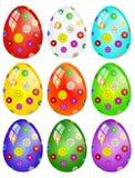 Easter eggs isolated stock illustration