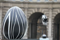 Easter Eggs in London city center - abstraction Royalty Free Stock Photography