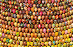 Easter eggs. It is a lot of Easter eggs Stock Photography
